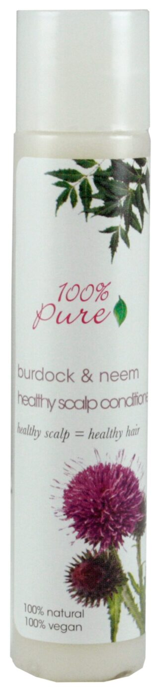 100% Pure Burdock & Neem Healthy Scalp Conditioner - 30ml