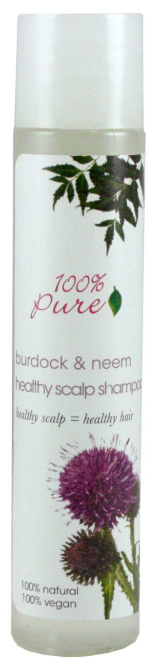 100% Pure Burdock & Neem Healthy Scalp Shampoo - 30ml