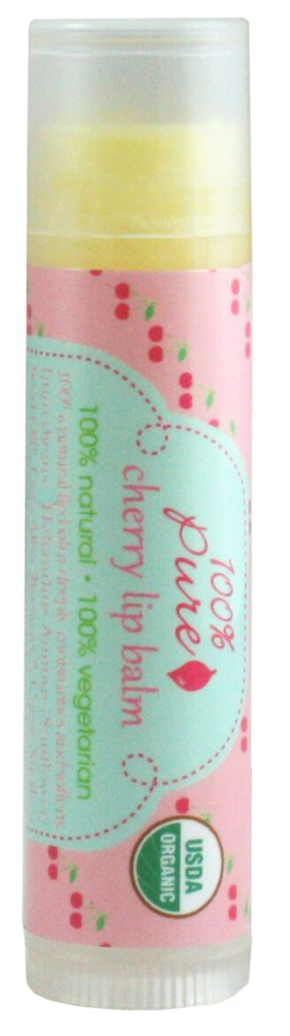 100% Pure Cherry Lip Balm (stick)  - 4.25g