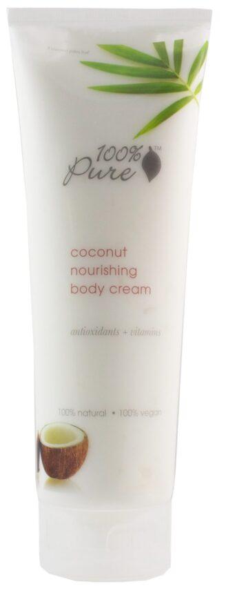100% Pure Coconut Nourishing Body Cream - 236ml