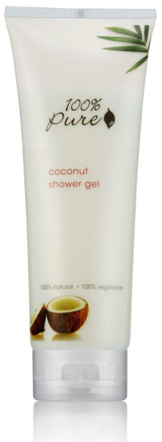 100% Pure Coconut Shower Gel - 236ml