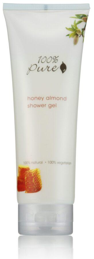 100% Pure Honey Almond Shower Gel - 236ml