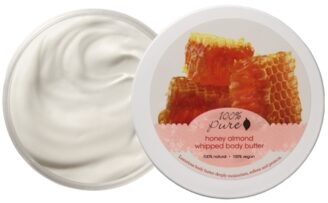100% Pure Honey Almond Whipped Body Butter - 96g