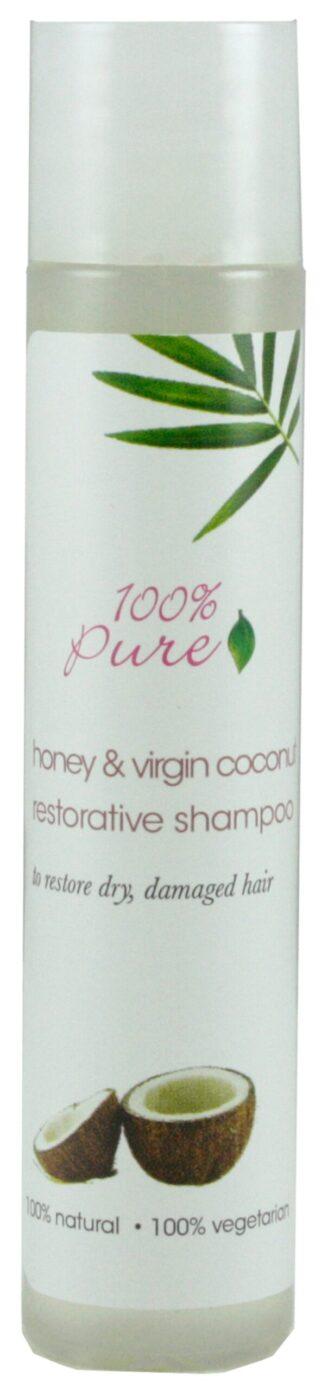 100% Pure Honey & Virgin Coconut Restorative Shampoo - 30ml