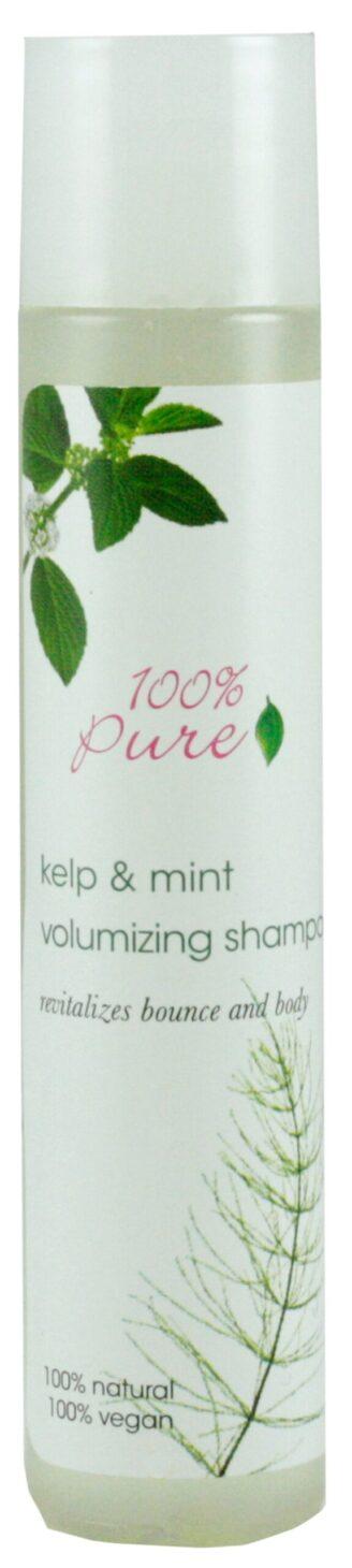 100% Pure Kelp & Mint Volumizing Shampoo - 30ml