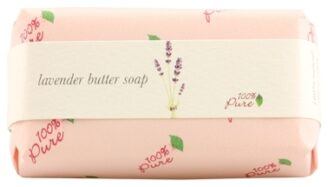 100% Pure Lavender Butter Soap - 127g