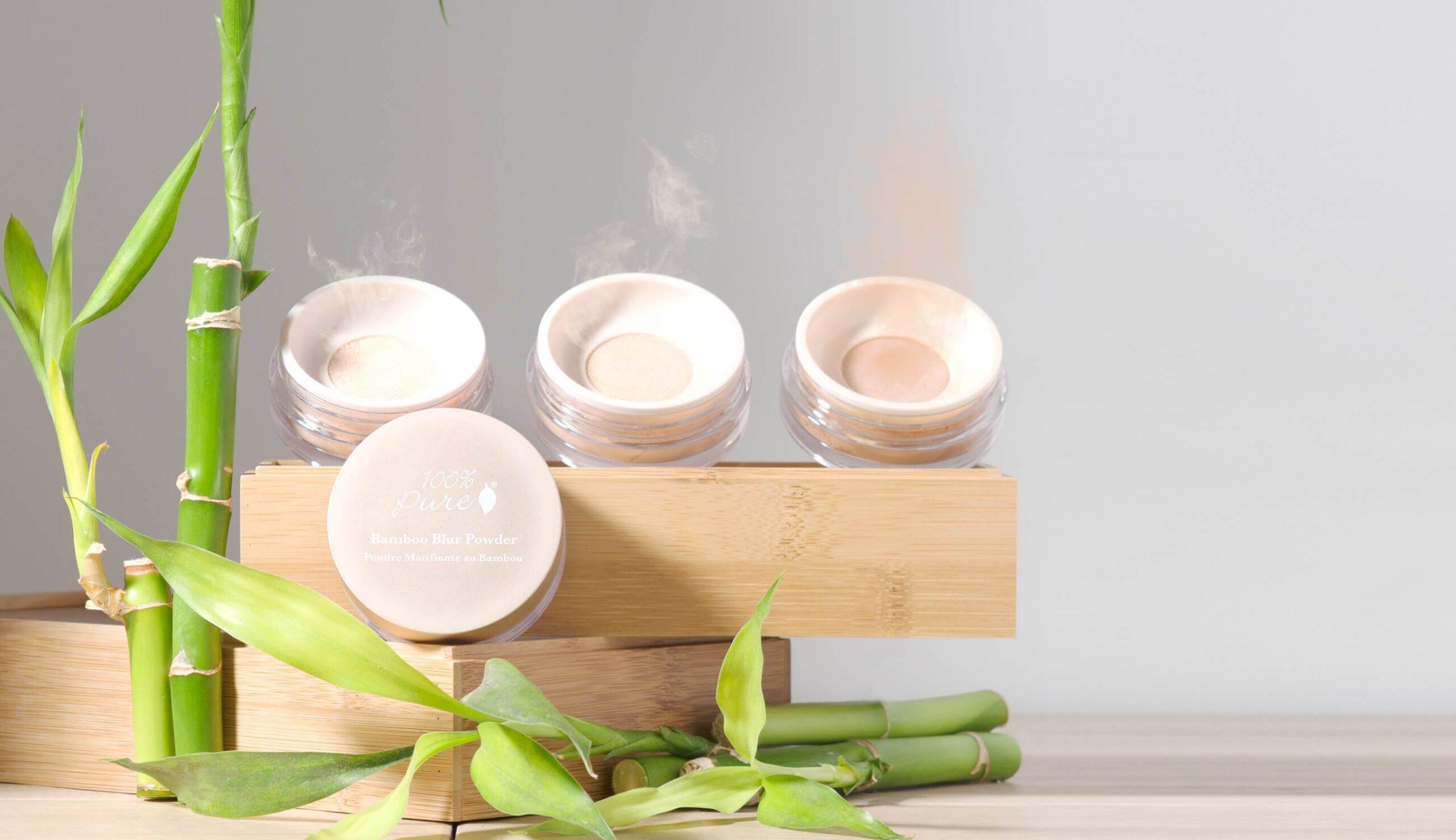 100% Pure Bamboo Blur Powder - Light - 5,5 gr