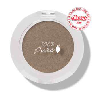 100% Pure Fruit Pigmented Eye Shadow: Bronze Gold- 2g