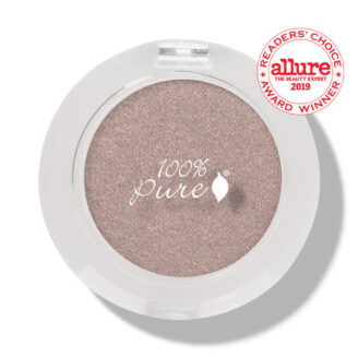 100% Pure Fruit Pigmented Eye Shadow:  Sugared- 2g