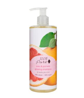 100% Pure Yuzu & Pomelo Glossing Shampoo - 390ml