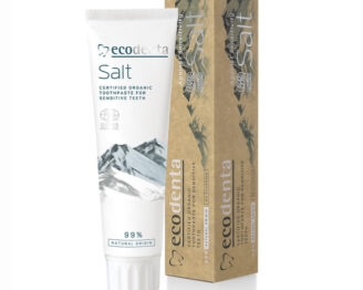 ECODENTA Organic Sensitive Teeth and Gums Toothpaste Salt (uten fluor)  - 100 ml