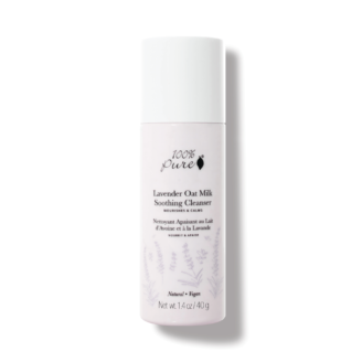 100% Pure Lavender Oat Milk Soothing Cleanser - 40 gr