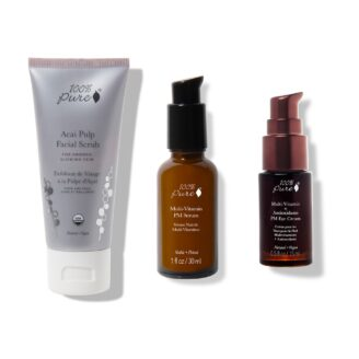 Hudpleiepakke: 100% Pure Antioxidant Treatment Trio - 3 stk