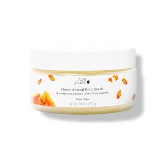 100% Pure Body Scrub: Honey Almond- 285 gr