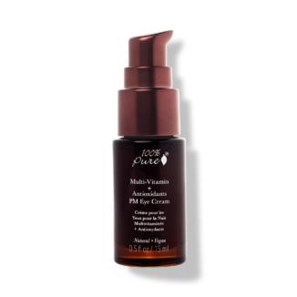 100% Pure Multi-Vitamin + Antioxidants PM Eye Treatment - 15 ml