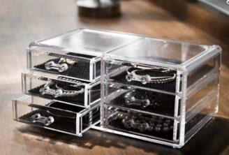 Jewelry Organizer – Smykkeskrin med 6 skuffer