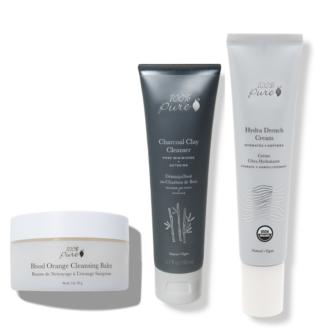 Hudpleiepakke: 100% Pure - Kombinert og fet hud - 3 stk