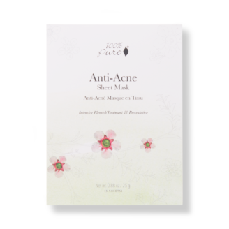 100% Pure Sheet Mask: Anti Acne - 5 pack