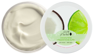 100% Pure Coconut Lime Whipped Body Butter - 96g