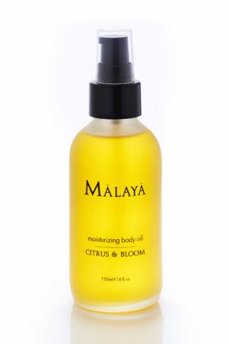 Malaya Organics Moisturizing Body Oil Citrus & Bloom - 120 ml