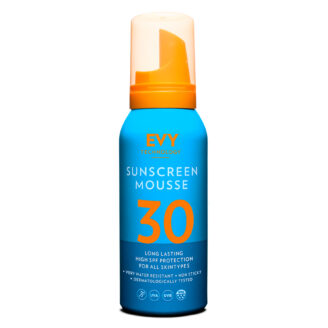 EVY Sunscreen Mousse SPF 30 Travel Size - 100 ml