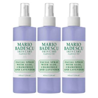 Hudpleiepakke: Mario Badescu Facial Spray with Aloe, Chamomile and Lavender - 236 ml x 3