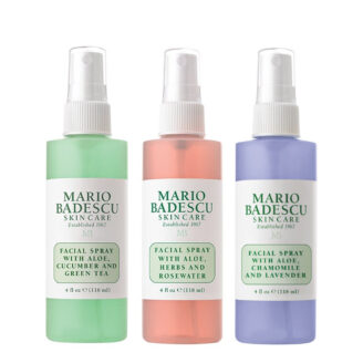 Mario Badescu Facial Spray Spritz.Mist.Glow Set 3 x118 ml