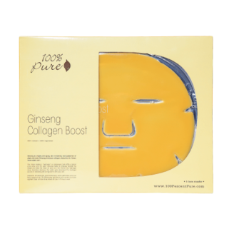 100% Pure Ginseng Collagen Mask -5 pk - 60 gr