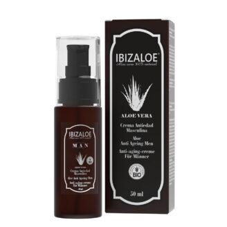 Ibizaloe Aloe Anti Ageing Men Facial Cream - 50ml