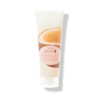 100% Pure Honey & Virgin Coconut Restorative Shampoo - 236ml
