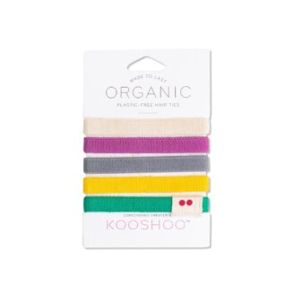 KOOSHOO Organic Hair Tiles - Colorful 5 stk