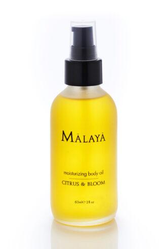 Malaya Organics Moisturizing Body Oil Citrus & Bloom - 60 ml