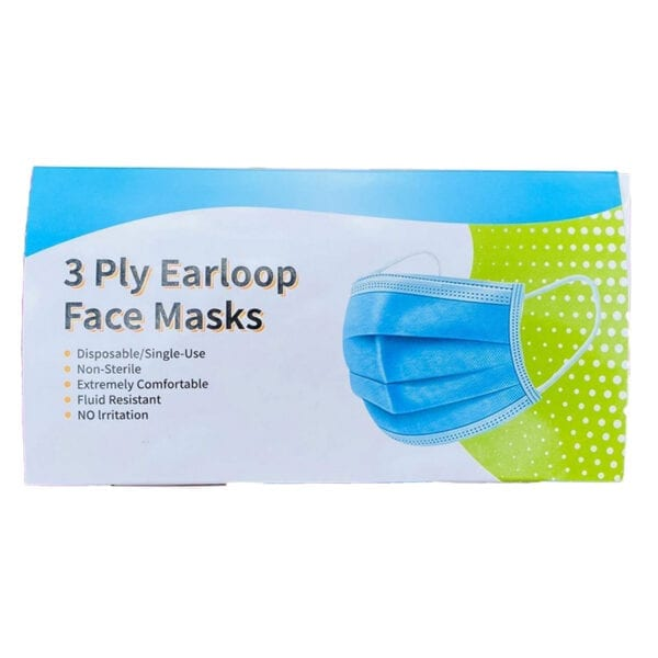 Purity Pharm Disposable Earloop Face Masks - Munnbind - 50 stk