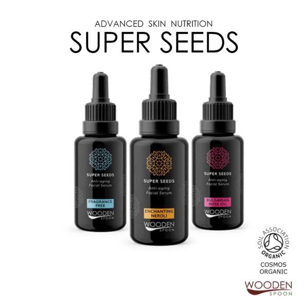 Super Seeds Anti- Aging Facial Serum for Sensitive Skin - 30 ml