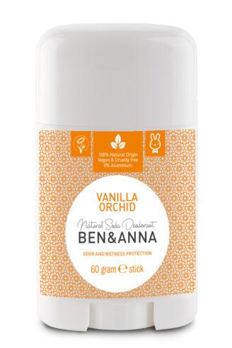 Ben & Anna Natural Deodorant Stick - Vanilla Orchid - 60 gr