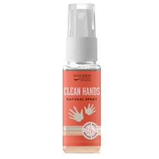 """Wooden Spoon Clean Hands """"Kids & Family"""" - naturlig håndrens spray- 50 ml"""