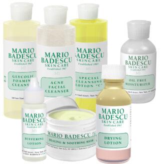Mario Badescu Acne Total 1 - Hudpleiepakke for kviser og uren hud 1