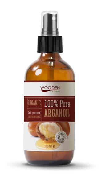 Wooden Spoon 100% Argan Oil - 100 ml
