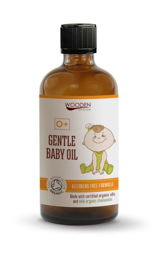 Wooden Spoon Gentle Baby Oil - 100 ml