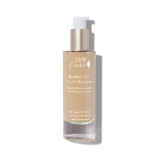 100% Pure Bamboo Blur Tinted Moisturizer: Peach Bisque - 50 ml