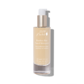 100% Pure Bamboo Blur Tinted Moisturizer: White Peach - 50 ml