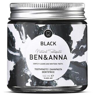 Ben & Anna Natural Toothpaste Black wth activated Charcoal - 100 ml