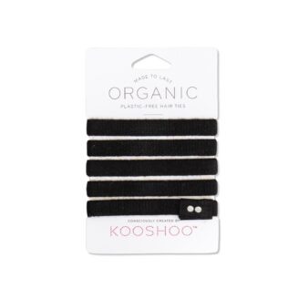 KOOSHOO Organic Hair Tiles - Black 5 stk