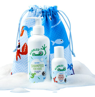 Gavesett: BUBBLES Shampoo 200 ml + Bath & Shower 50ml - For Kids
