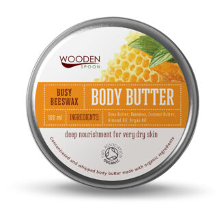 Wooden Spoon Body Butter Busy Bees Wax - 100 ml