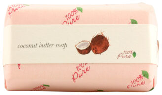 100% Pure Coconut Butter Soap - 127g