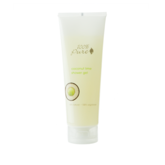 100% Pure Shower Gel: Coconut Lime - 236ml