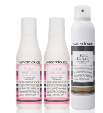 Waterclouds Travel Beauty Box - Color Care - 3 stk produkter