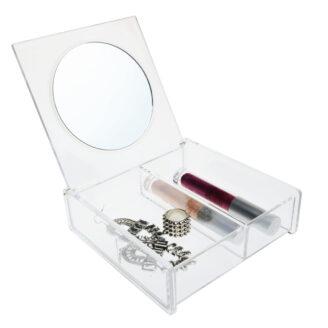 Cosmetic Organizer med Speil