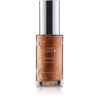 100% Pure All over Glow - Deeply Sun Kissed Luminizer - 40ml